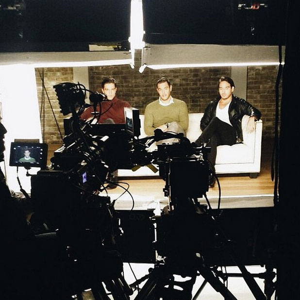 TOWIE cast film series 14 advert on 3 February: Lockie, Elliott Wright and Lewis Bloor