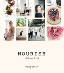 nourish by sadie frost book cover kyle books