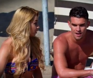 Melissa Reeves and Gary Beadle, Ex On The Beach 10 February