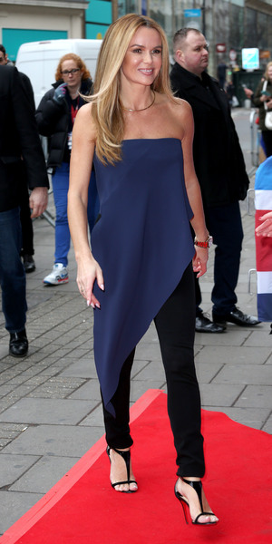 Amanda Holden arrives for Britain's Got Talent auditions in London 11 February