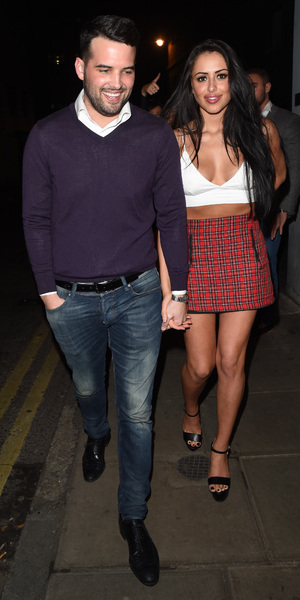 Ricky Rayment and Marnie Simpson, Cafe De Paris, London 8 February