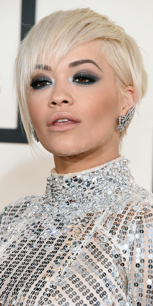 Rita Ora attends Grammy Awards 2015, LA 8 February