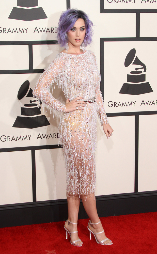Katy Perry, 57th Annual GRAMMY Awards held at the Staples Center - Red Carpet Arrivals, 8 February 2015