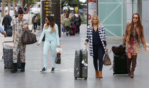 TOWIE stars Jessica Wright, Bobby Norris, Danielle Armstrong, Leah Wright land in Tenerife