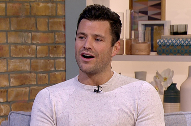 Mark Wright appears on 'This Morning', to talk about presenting 'Take Me Out: The Gossip'. Shown on ITV1 - 10 February 2015.