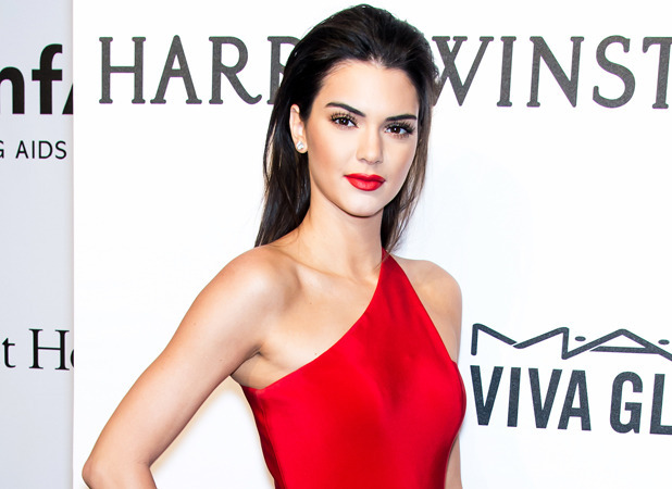 Kendall Jenner at amfAR Gala in New York on 11 February 2015