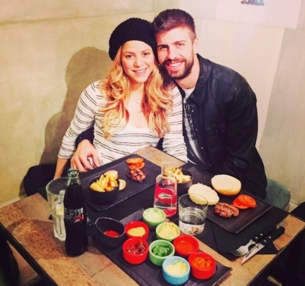 Shakira on lunch date with partner Gerard Piqué - 13 February 2015.
