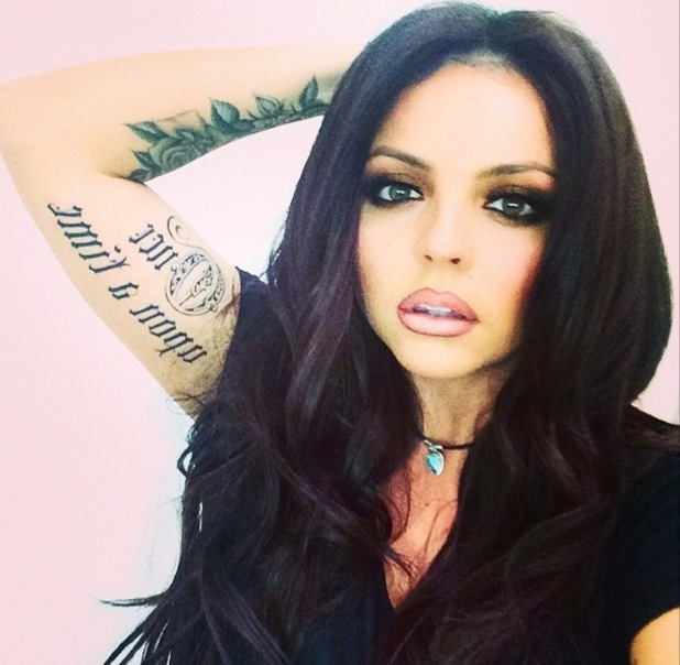 Jesy Nelson debuts new 'Once Upon A Time' tattoo 12 February