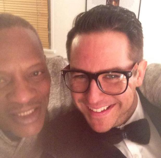 Celebrity Big Brother's Kavana and Alexander O'Neal pictured at CBB final - 6 February 2015.