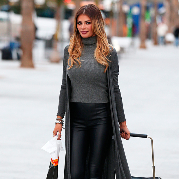 The Only Way is Essex' Cast in Tenerife, Spain - 09 Feb 2015 Chloe Sims