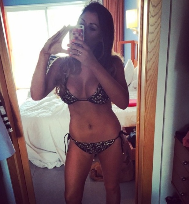 Jessica Wright shows off her bikini body in Tenerife with TOWIE - 11 Feb 2015