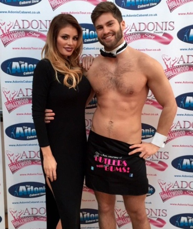 Chloe Sims judges ADONIS' search for a new Christian Grey - 9 Feb 2015