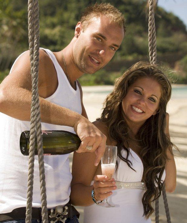 'Love Island' TV programme, Fiji - 29 Aug 2006 Winners, Calum Best and Bianca Gasgoigne