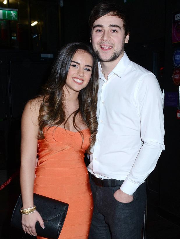 Georgia May Foote and then-boyfriend John Sage at The Wright Venue's Baroque Club, Dublin - 8 Feb 2015