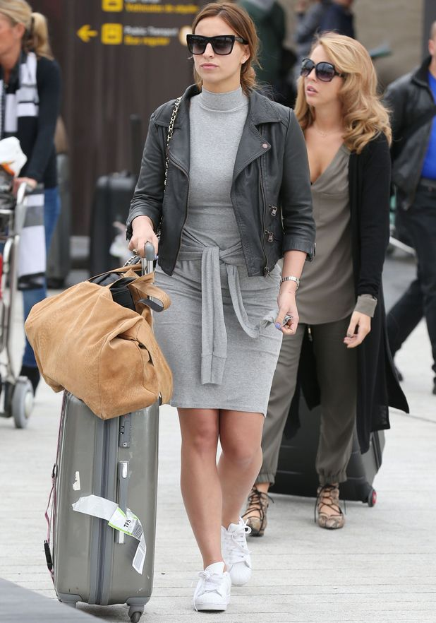 Ferne McCann and Lydia Bright arrive in Tenerife 9 February