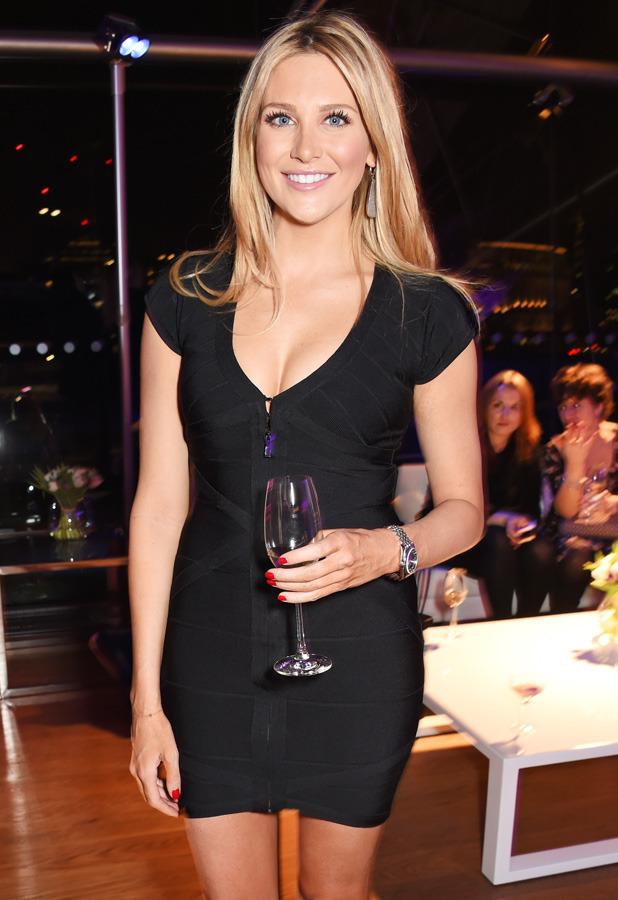 Stephanie Pratt at John Frieda party on 12 February 2015