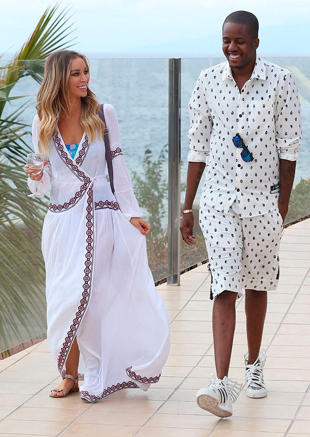 'The Only Way is Essex' Cast in Tenerife, Spain - 10 Feb 2015 Lauren Pope and Vas J Morgan