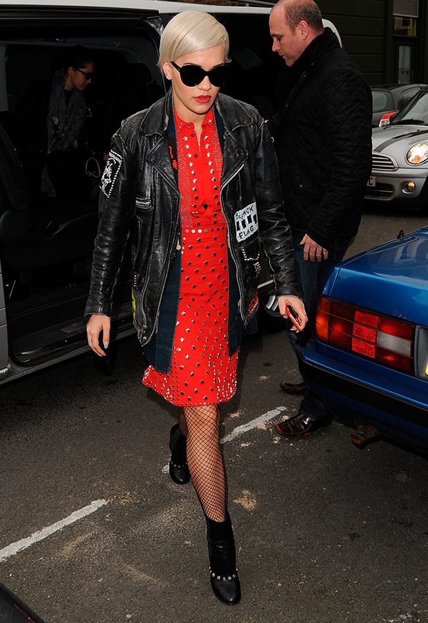 Rita Ora out in West London, 12 February 2015