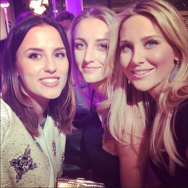 Lucy Watson shares selfie with sister Tiffany and BFF Stephanie Pratt