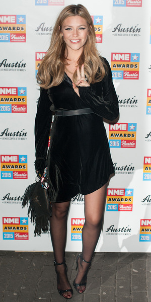 Abbey Clancy and Peter Crouch at NME Awards held at the Brixton Academy - 18 Feb 2015