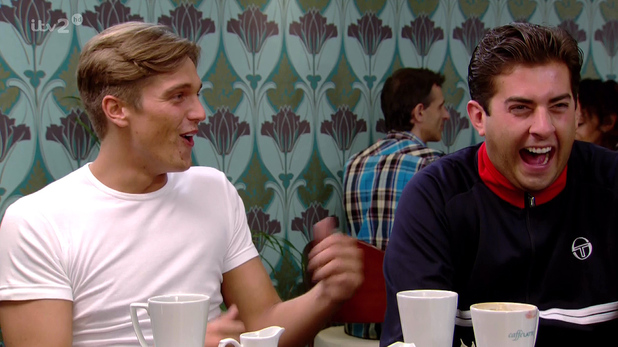 TOWIE episode with Lewis Bloor and James 'Arg' Argent - 2013.