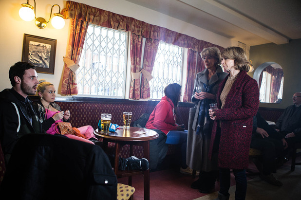 Corrie, Gail and Audrey confront Callum, Wed 18 Feb