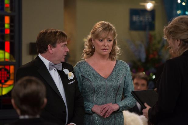 EastEnders, Ian and Jane get married, Wed 18 Feb