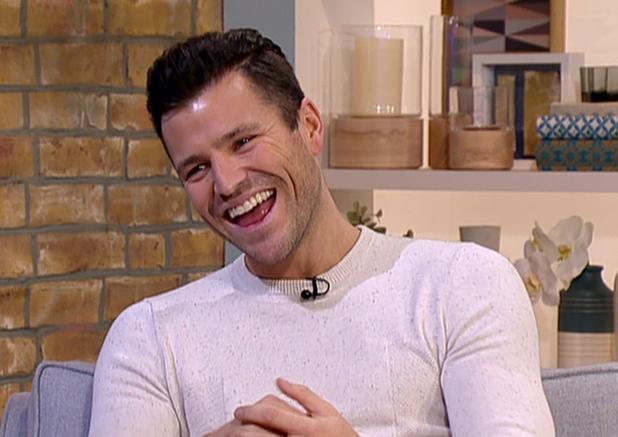 Mark Wright appears on This Morning to talk about presenting Take Me Out: The Gossip. 02/10/2015.