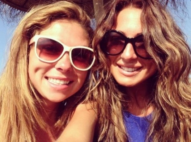 TOWIE stars Fran Parman and Grace Andrews are friends again, Twitter 20 February