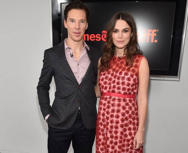 Keira Knightley and Benedict Cumberbatch, The New York Times' Timestalks & TIFF In Los Angeles' Presents The Imitation Game, LA 16 February