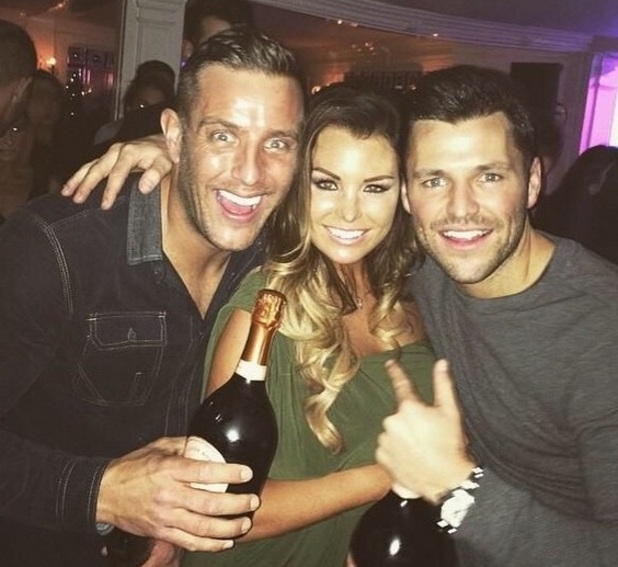 TOWIE's Jessica Wright parties with Mark Wright and Elliott Wright at Sheesh Chigwell, Essex 18 February