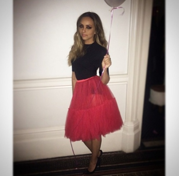 Jade Thirwall Valentine's outfit, 15/2/15
