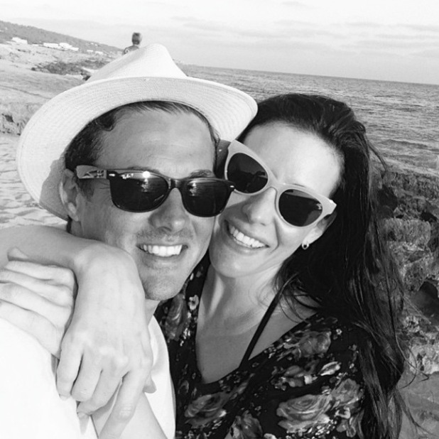 Liv Tyler and partner Dave Gardner in loved-up selfie, 3 January 2015