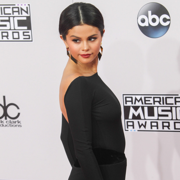 Selena Gomez at 2014 American Music Awards at Nokia Theatre L.A. Live - Red Carpet Arrivals - 23 Nov 2014