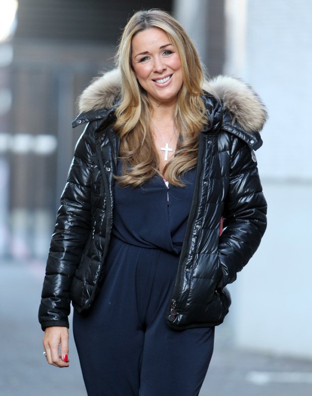 Claire Sweeney appears on Lorraine, ITV studios, London 17 February