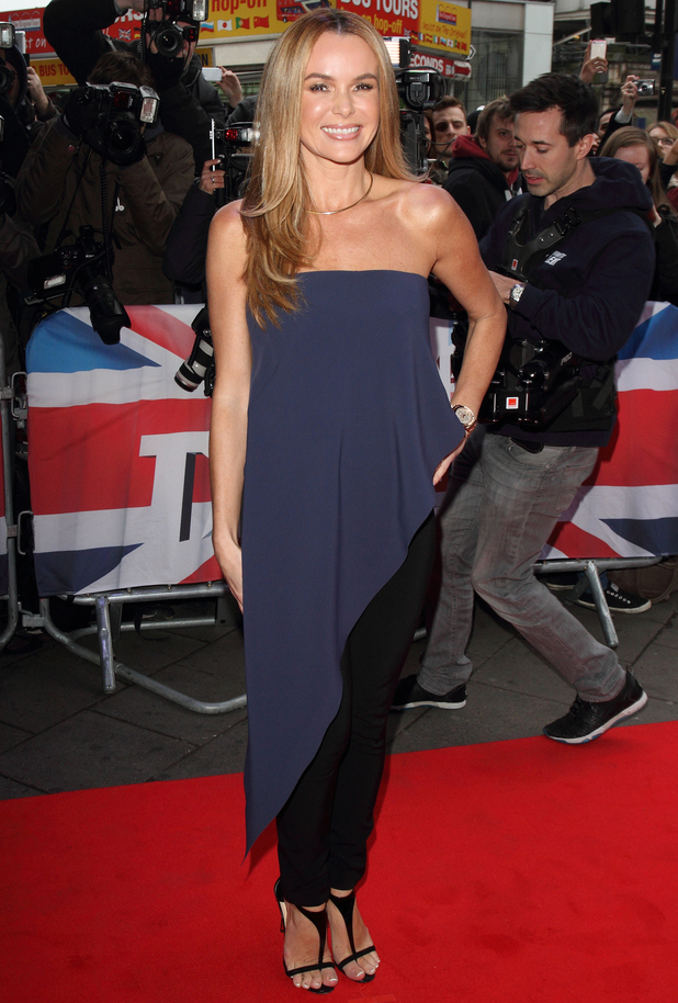 Amanda Holden, Britain's Got Talent' London auditions at the Dominion Theatre, London 11 February