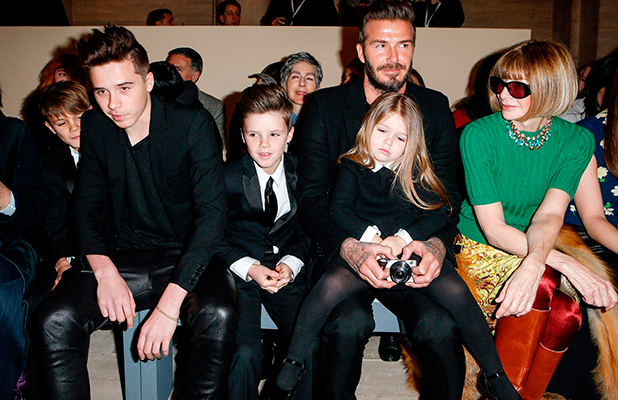 Harper Beckham steals the show at Victoria's New York ...