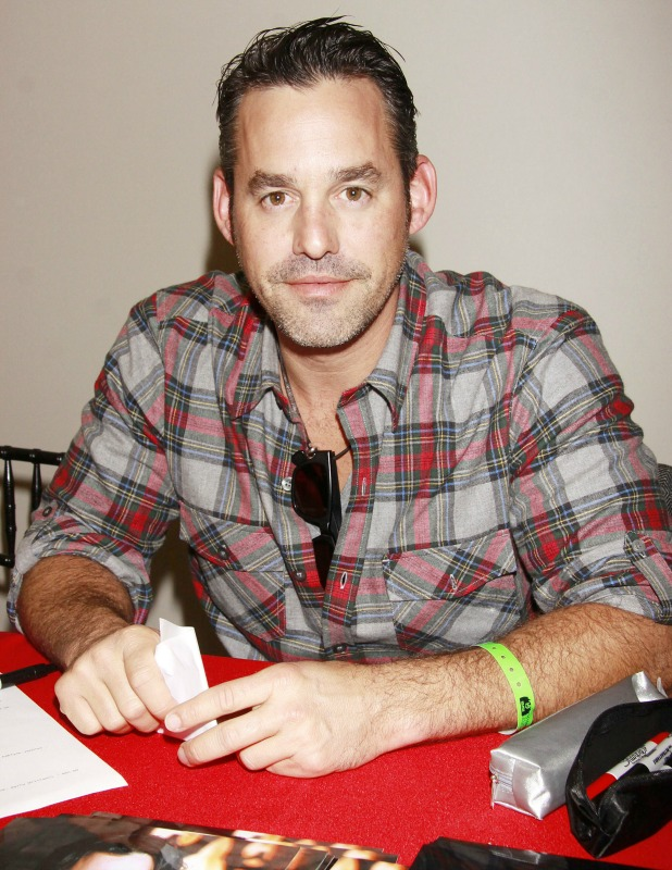 Nicholas Brendon attending a signing, 2011