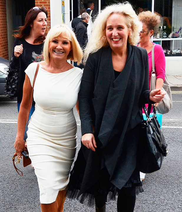 Carol Wright And Debbie Bright at the opening of 'Harry's World', a new fashion boutique owned by Harry Derbidge from 'The Only Way is Essex' Essex, England - 10.07.12