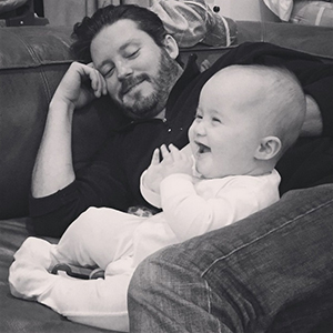 Kelly Clarkson shares picture of River Rose and Brandon Blackstock, 17 February 2015