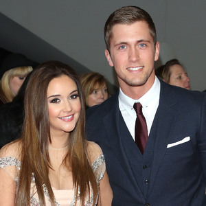 Jacqueline Jossa and Dan Osborne at the National Television Awards (NTA's) 2015 held at the O2 - Arrivals. 21/1/2015.