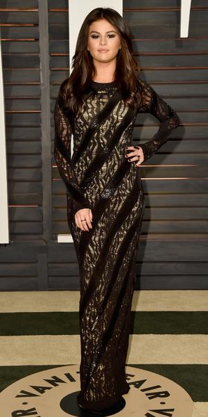 Selena Gomez attends Vanity Fair Oscar Party, Hollywood, LA 22 February