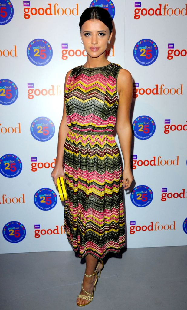 Lucy Mecklenburgh attends BBC Good Food 25th anniversary party, Vinyl Factory Soho, London, Britain - 26 Feb 2015.