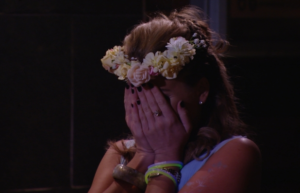 Lydia Bright breaks down in tears as James 'Arg' Argent returns to TOWIE - 28 Feb 2015