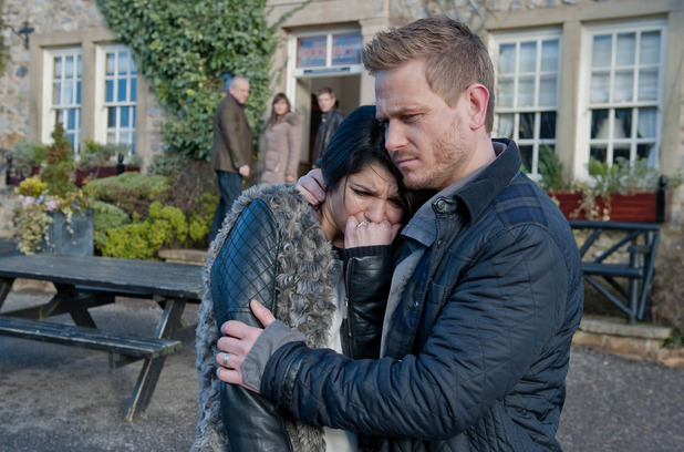 Emmerdale, Alicia distraught, Mon 2 Mar