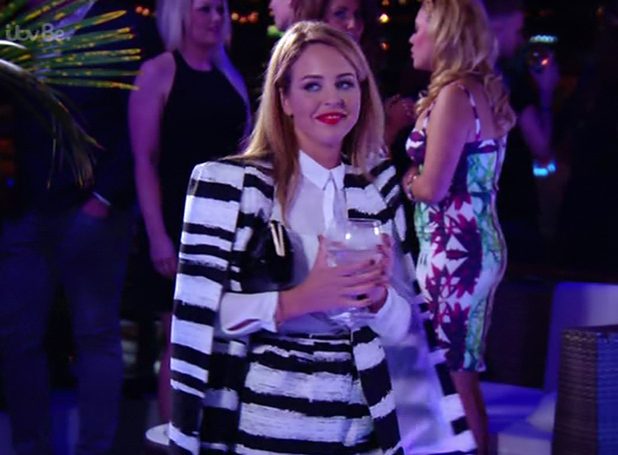 Lydia Bright on series 14 of TOWIE - 22 February 2015.