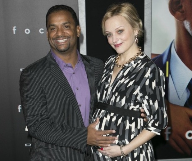 Alfonso Ribeiro and pregnant wife attend Los Angeles World Premiere of Focus at TCL Chinese Theater, 24 February 2015