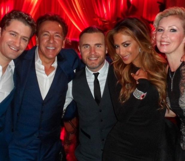 Nicole Scherzinger joins Gary Barlow at Harvey Weinstein's pre-Oscars party - 23 February 2015