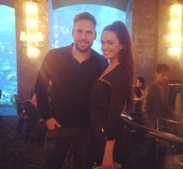 Jennifer Metcalfe and Greg Lake enjoy a holiday in Dubai - 23 Feb 2015