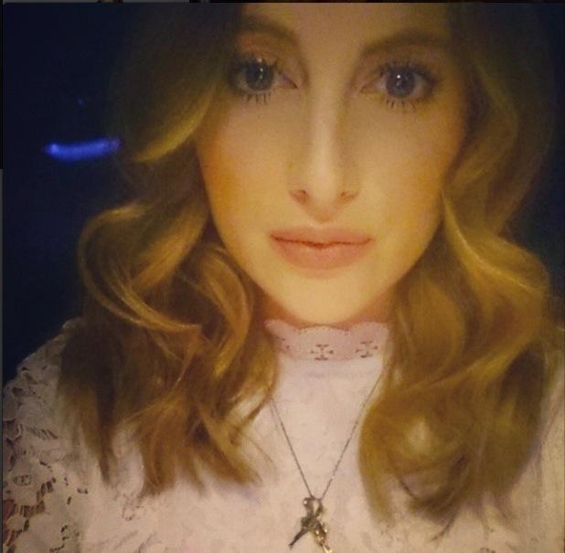 Rosie Fortescue selfie, 22/2/15